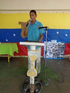 Mauro Campos fue el homenajeado en el III Encuentro de Cronistas Escolares