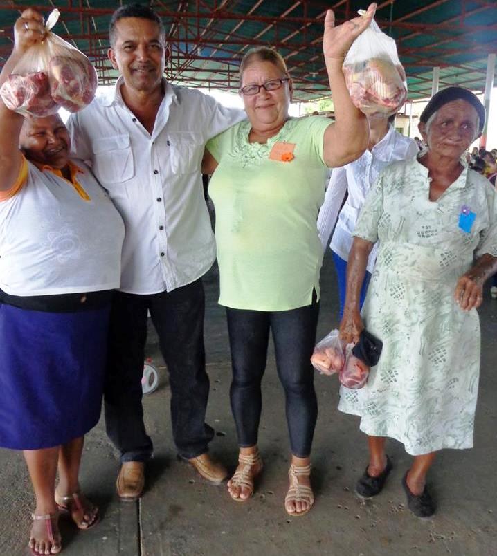 Con mucho entusiasmo se celebró el día de las madres en la población de Chaguaramas