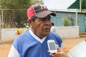 Diomedes Ramírez, felicitó al alcalde por la gestión que viene realizando en Infante