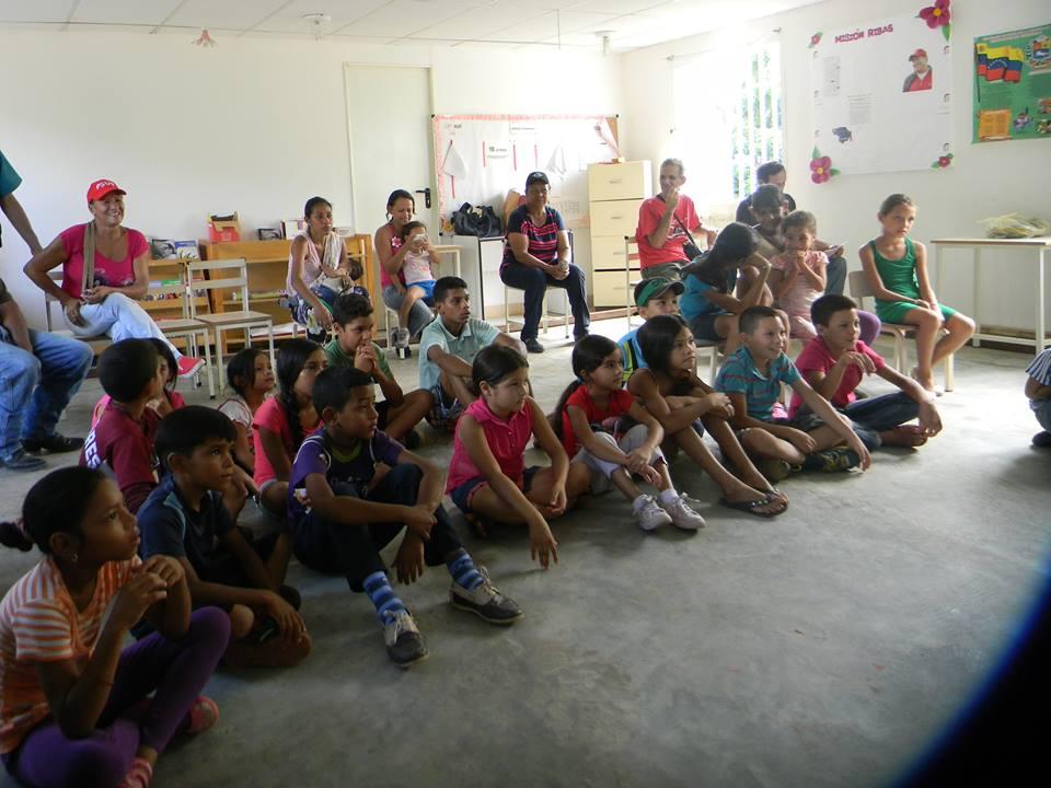 Infantes disfrutaron de actividades culturales de parte de Fundaculgua.