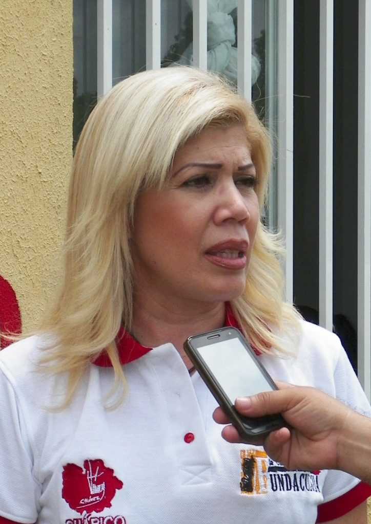 Luisa R Tabares Presidenta de FUNDACULGUA