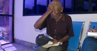 Maracaibo Venezuela 16/08/2016 Zulia Carlos Jose Gonzalez clama por su pension