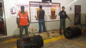 Detuvieron al conductor del vehículo que tenía como destino el estado Bolívar