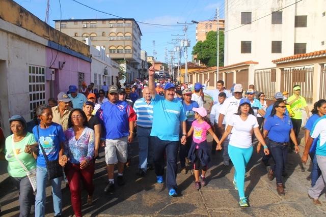 Participaron en la caminata 3K