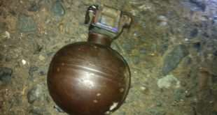 La granada no exploto