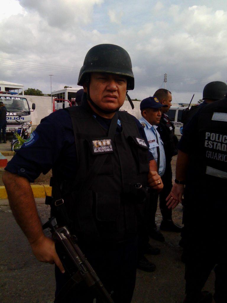 Gaspar estuvo a cargo del operativo en Altagracia de Orituco