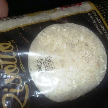 Fueron decomisadas 12 toneladas de arroz