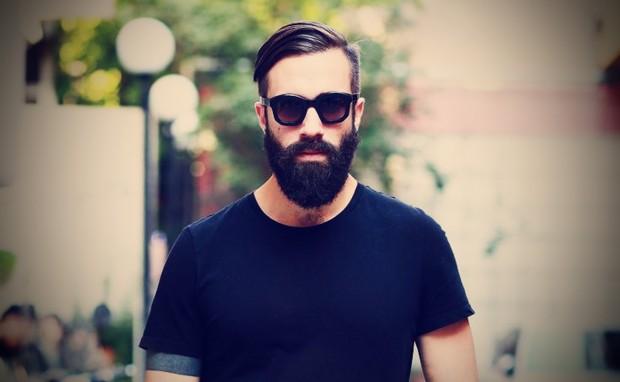hombres con barba marcan la pauta.