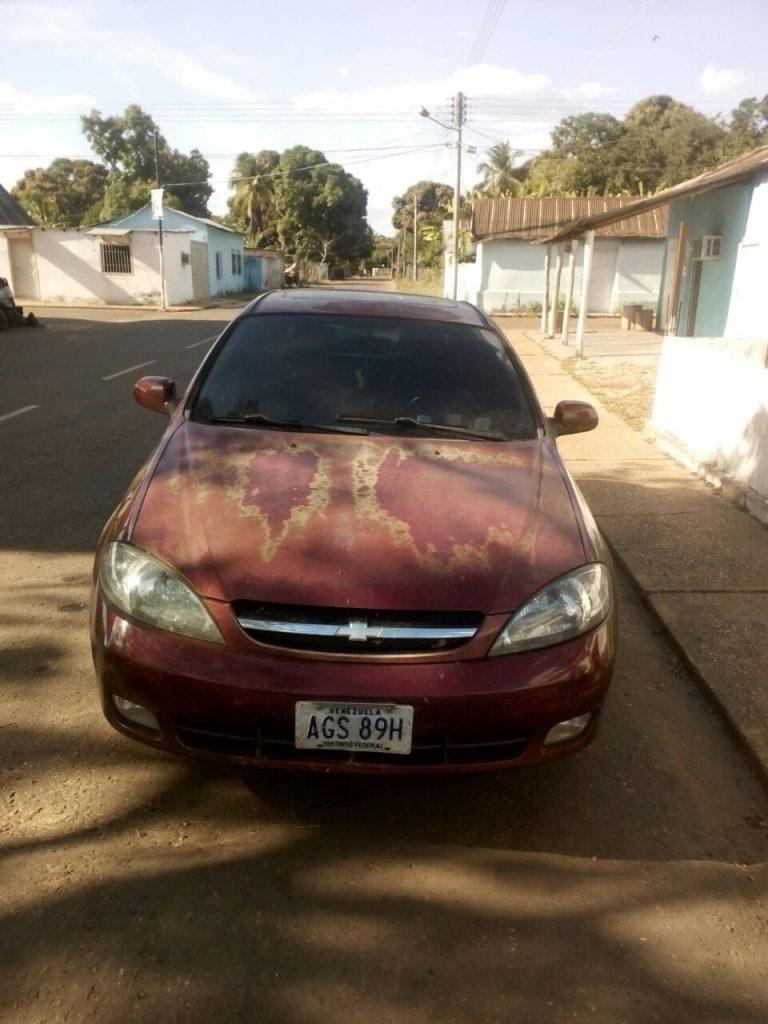 vehiculo recuperado en carretera Santa Rita de Manapire - Cabruta