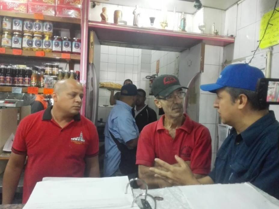 Superintendente William Contreras lidera fiscalizaciones en panaderías