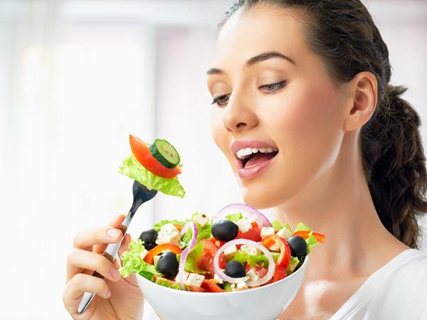 Comer verduras disminuye peso