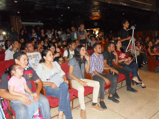 Público asistente a la actividad
