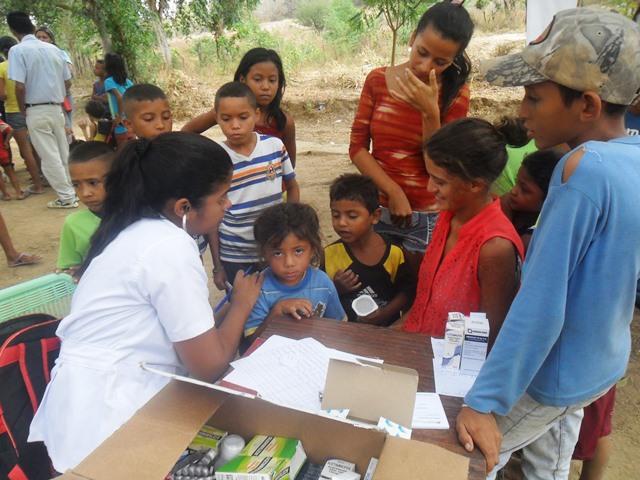 operativo medico asistencial en la isla de tucupido