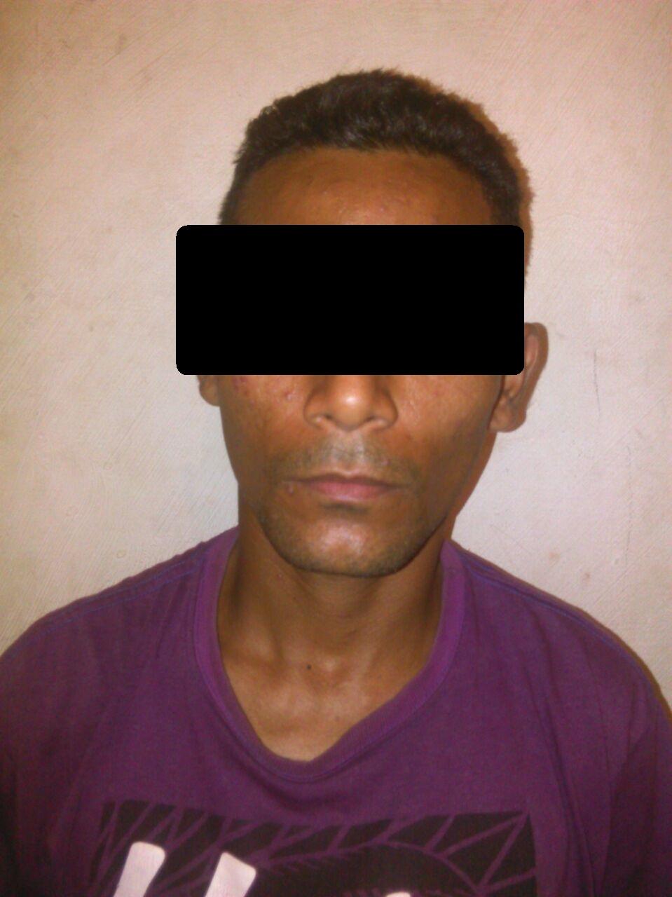 El sujeto de 27 años de edad detenido por los funcionarios de la Policía del estado Guárico por estar incurso en un atraco a mano armada