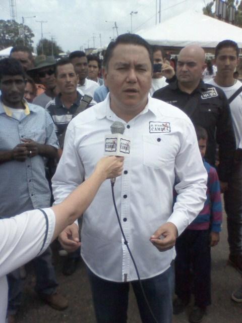 javier bertucci se lanza a la carrera politica como candidato presidencial de Venezuela