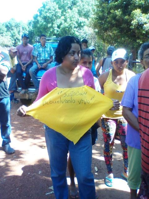 Familiares piden justicia y que devuelvan a su ser querido vivo