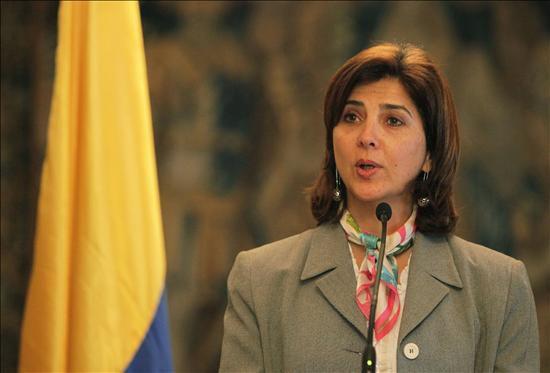 María Ángela Holguín canciller de Colombia