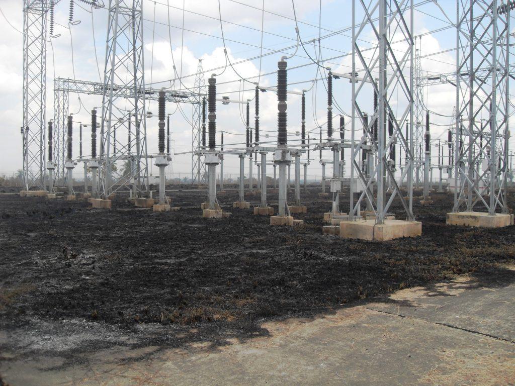 los incendios afectan las instalaciones