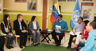 Maduro pide ayuda a ONU