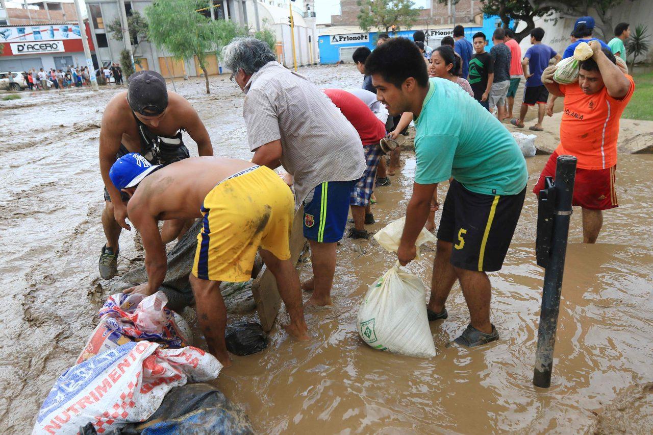 lluvias intensas en Perú