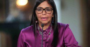 Delcy agradeció a los países que apoyan a Venezuela