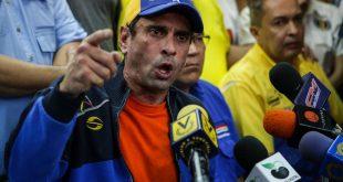 Capriles dijo que el presidente extermina a los venezolanos
