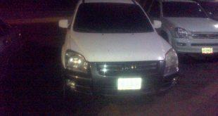 El vehículo que escoltaba el ganado robado fue retenido en el procedimiento