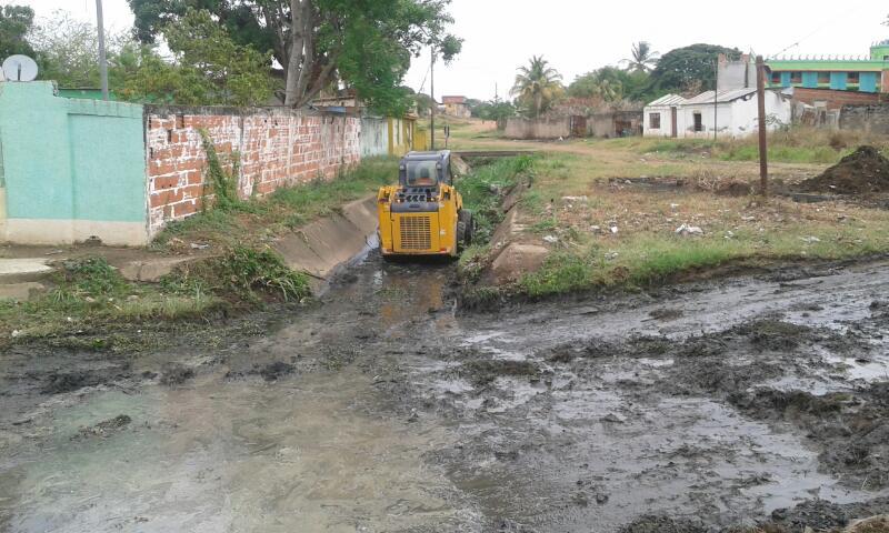 El personal de Barrio Nuevo Tricolor se encargó de realizar los trabajos