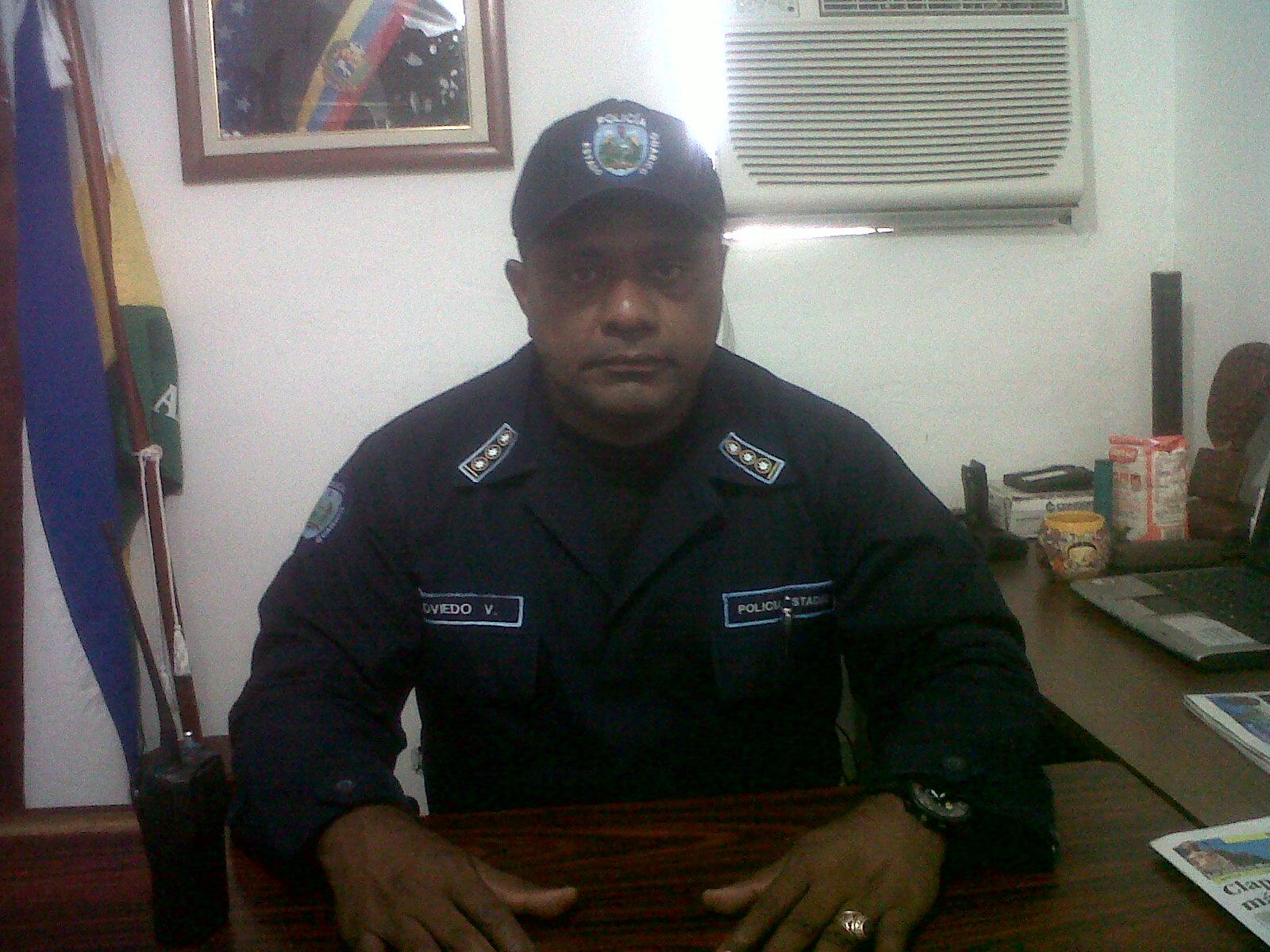 El Supervisor Jefe y director del Centro de Coordinación Policial Numero 4 Vicente Paúl Oviedo al momento de ofrecer la información