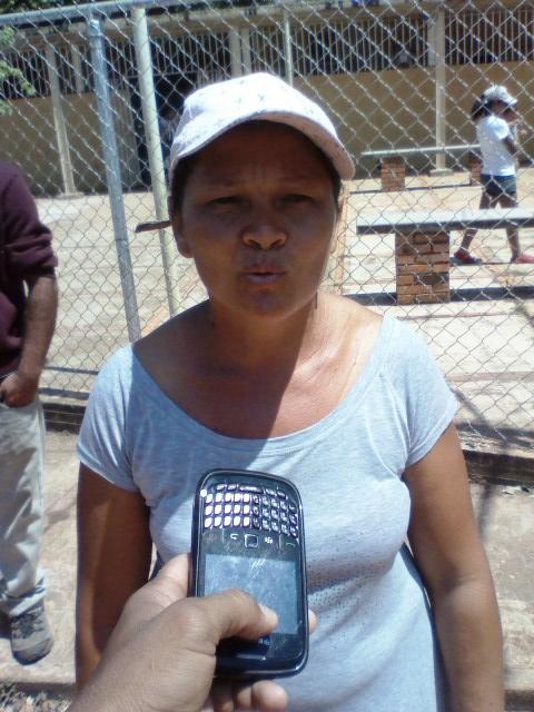 Del Valle Carvajal dijo que en este centro de salud no hay medicinas para la atención de los pacientes