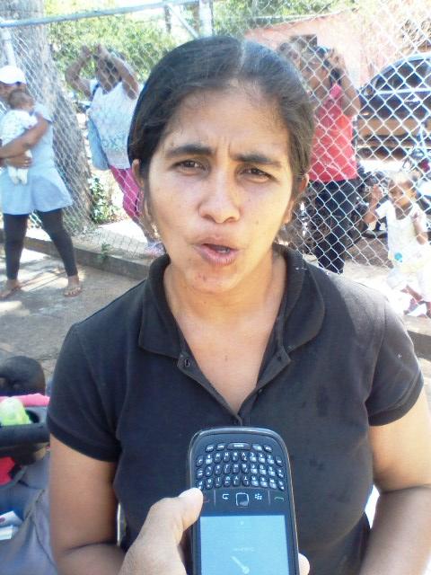 Leosmara Loreto le hizo el llamado al gobierno regional para que doten de una ambulancia y medicamentos al módulo de salud de Santa Rita de Manapire