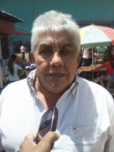 El productor agropecuario José Quiterio Matos alertó al sector agrario ante la critica situación política que vive el país