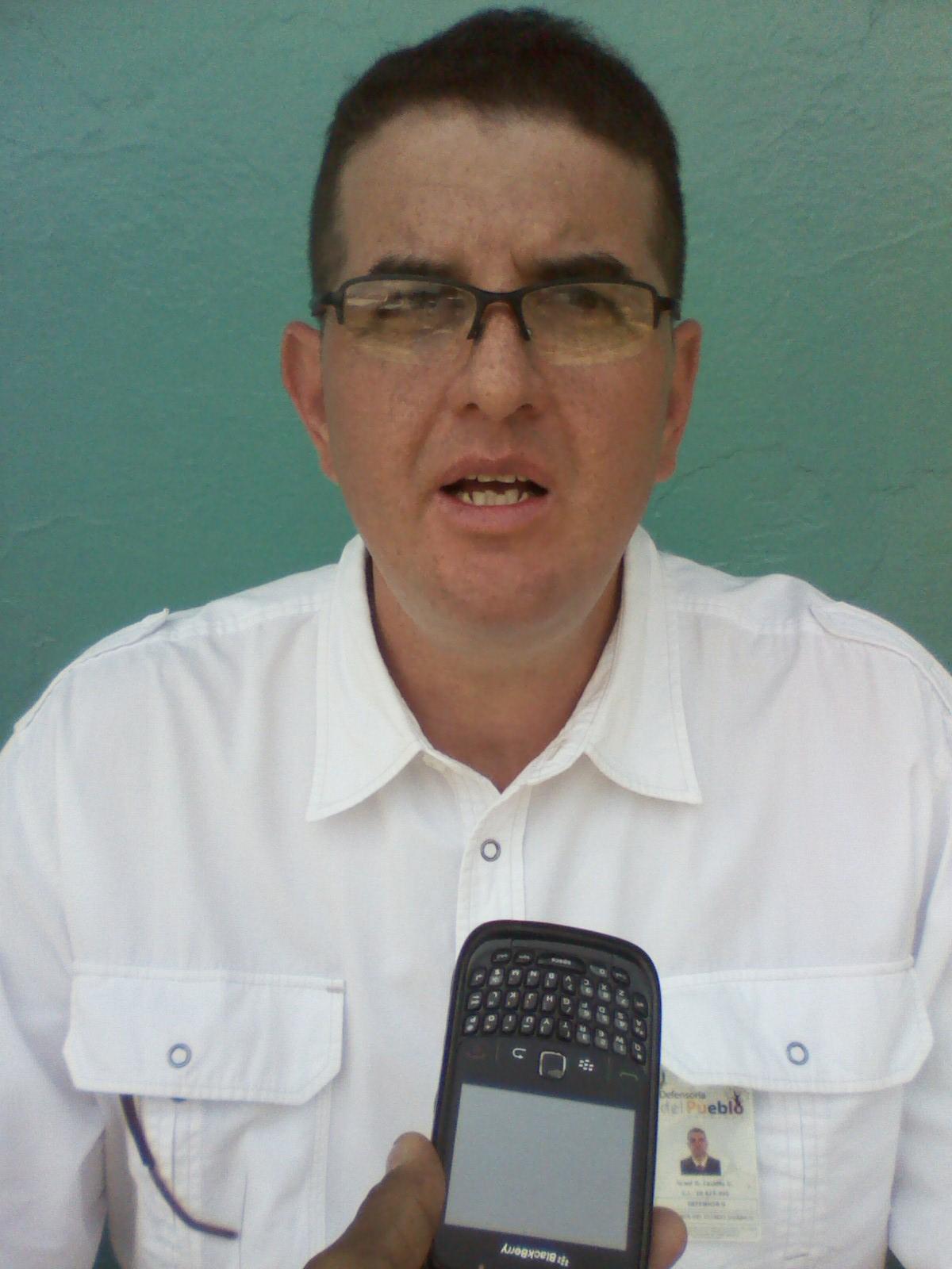 El defensor 4to de la Defensoría del Pueblo Israel Castillo expresó que se esta constatando el buen funcionamiento de las unidades