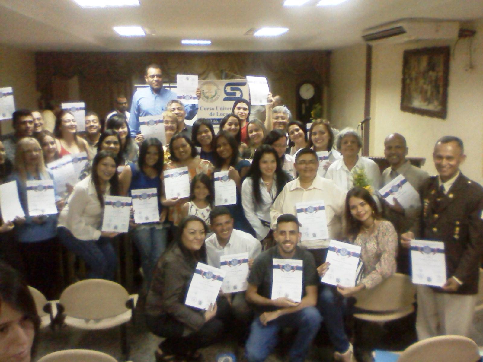 Los profesionales de la locución recibieron sus certificados en los espacios de la Cámara Municipal de Infante
