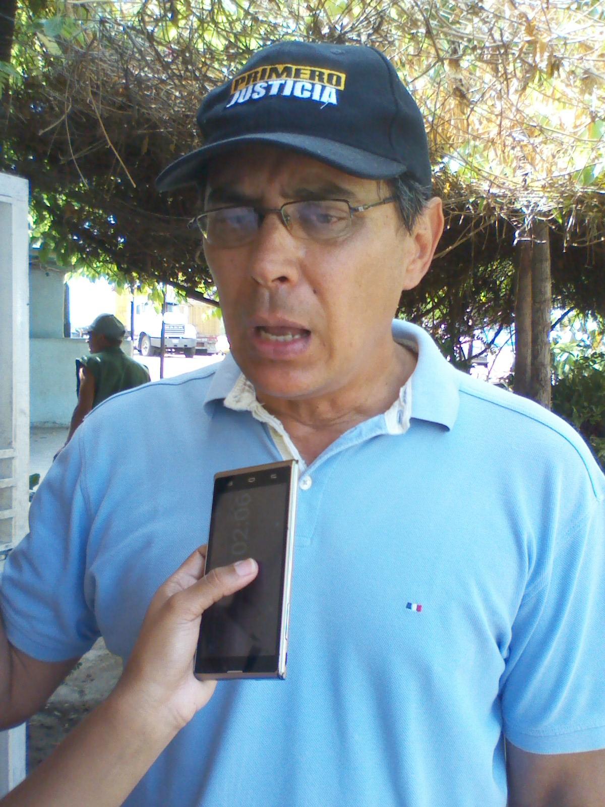 El secretario ejecutivo de la Mud en Infante Rafael Loreto dijo que están cumpliendo lineamientos de la dirección nacional