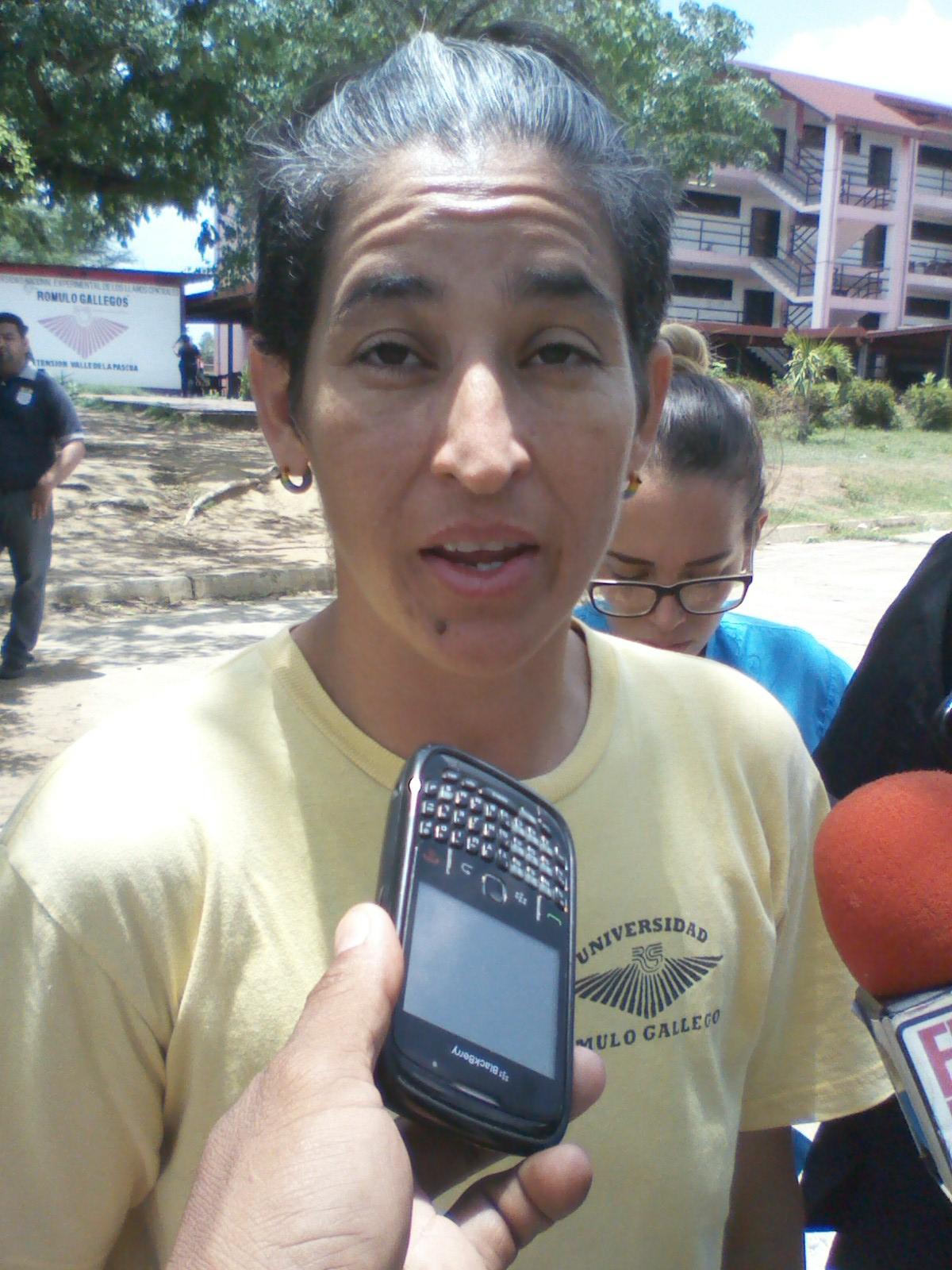 Eglis Iroba exigió la renuncia del coordinador del nucleo de la Unerg Maykel Álvarez