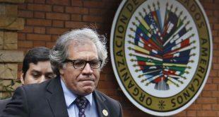 Almagro criticó al gobierno venezolano