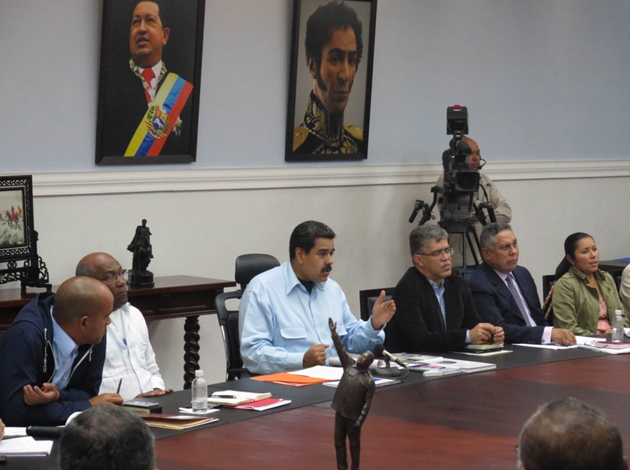Maduro activa el congreso de la patria
