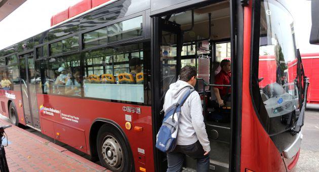 Metro bus tambien se paralizará mañana
