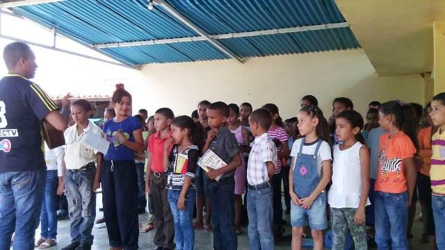Los niños y niñas de Cazorla comenzaron a vivir el milagro de la música