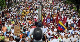 oposicion convoco marcha en defensa del voto