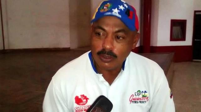 El coordinador del Psuv en el municipio Leonardo Infante ingeniero Jorge Luego al momento de ofrecer declaraciones