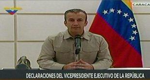 """Tareck El Aissami, informó que han sido capturados """"16 terroristas de células armadas en los Altos Mirandinos""""."""