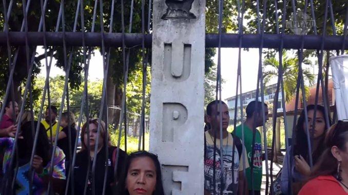 Suspendidas las clases en la UPEL