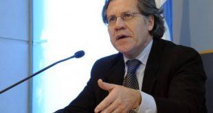 Luis Almagro, condenó el asesinato del juez Nelson Moncada.