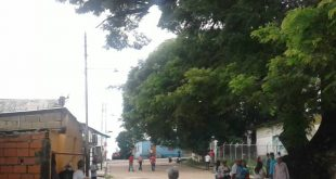 El centro de votación Félix Antonio Saa permaneció solo durante el día