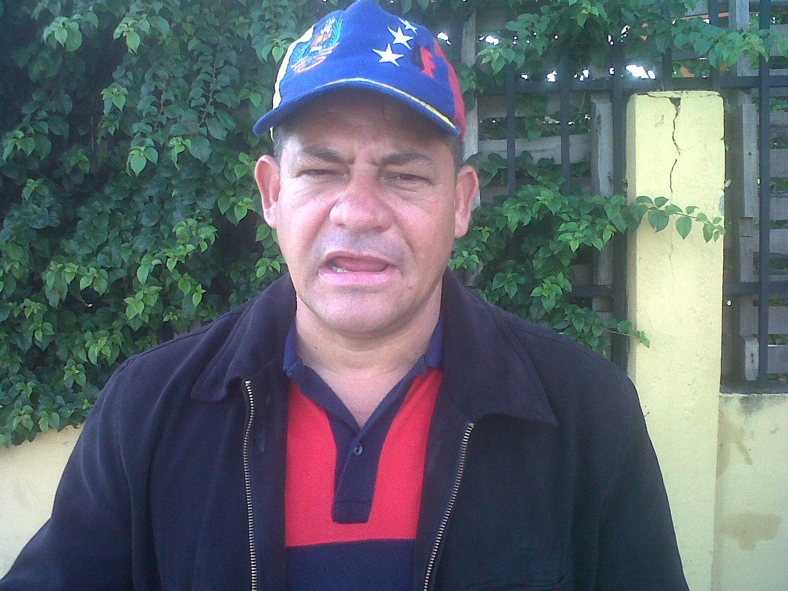 Centro de votación Andréz Bello en el caserío Corozal