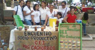 El C.E.I Mis Cachorros realizó la exposición de dulcería criolla y el banco de semillas
