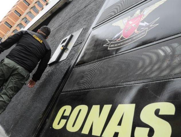 Dos funcionarios del Conas resultaron heridos en Altagracia de Orituco. Foto: Referencial.