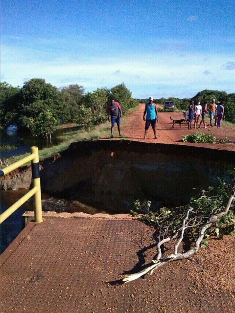 La crecida del caudaloso río Orinoco dejó incomunicados a los pobladores de Parmana